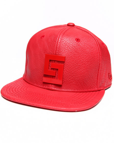 Crooks & Castles Thuxury Greco Logo Strapback Red