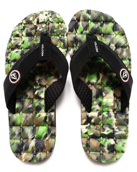 Volcom Camo Recliner Sandals
