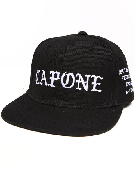 Crooks & Castles Men Big Fella Snapback Black - $30.00