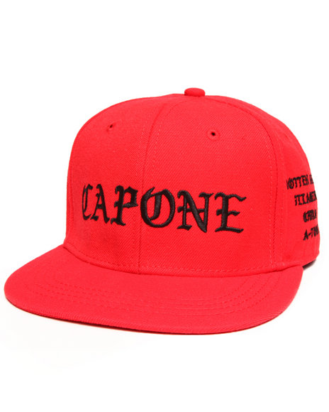 Crooks & Castles Big Fella Snapback Red