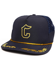 Crooks & Castles - Califas Captain Trucker Cap