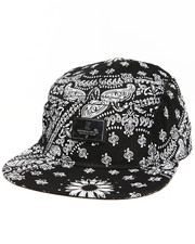 Men - Bandit Woven 5 Panel Strapback Cap