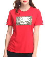 Crooks & Castles - Digi Camo Core Logo Crew Neck Tee
