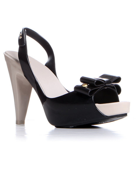 Djp Outlet - Women Black Melissa Sky Slingback Shoe