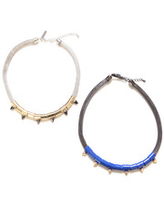 Women - Halo Necklaces (Set of 2)