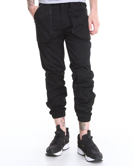 Black Apple Pants