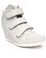 Fashion Lab - Bala 3 Strap Wedge Sneaker