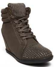 Fashion Lab - Kasmira Sneakers Wedge with Studs