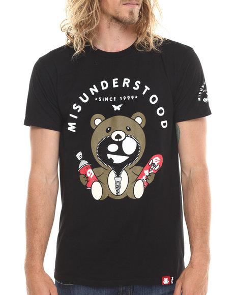 Entree - Men Black Misunderstood Classic T-Shirt