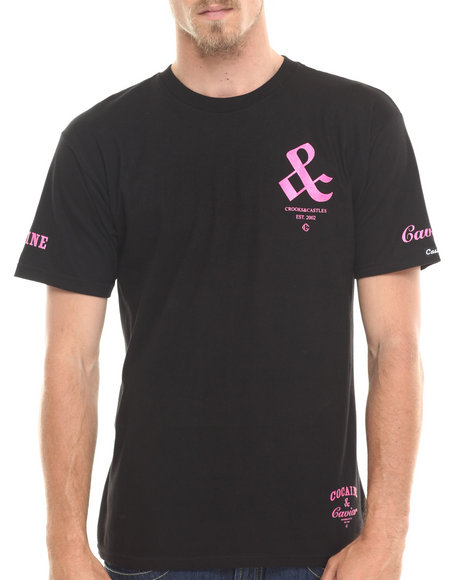 Crooks & Castles Pink T-Shirts