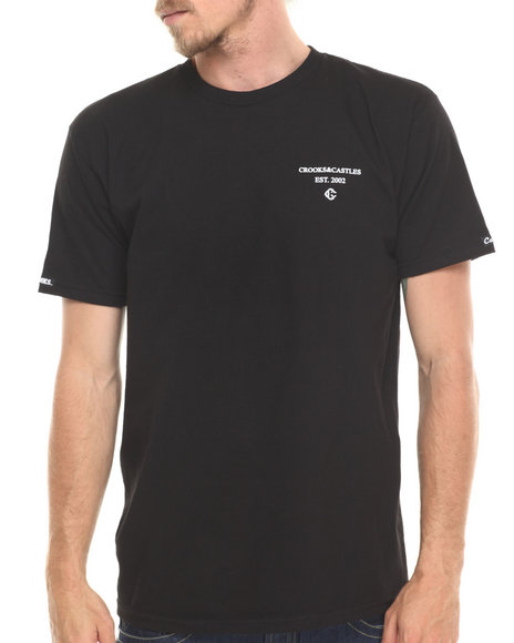 Crooks & Castles Black Squad T-Shirt