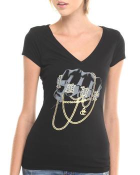 Rocawear - V-NECK CHAIN LOVE SHIRT
