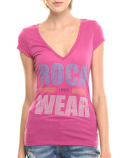 Rocawear - STUDDED V-NECK TOP