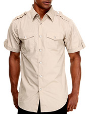 Basic Essentials - Short Sleeve Woven Shirt