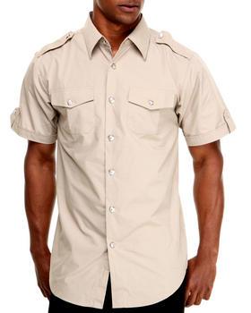Basic Essentials - Short Sleeve Woven Shirt