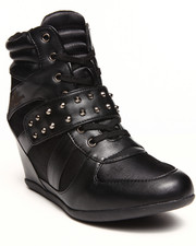 Women - Junia Studded Wedge Sneaker