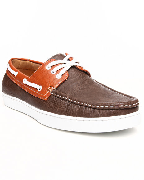 Buyers Picks - Men Brown Classic Boat Shoe