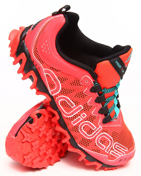 Adidas - Boys Red Vigor Tr 4 K Sneakers (3.5-7)