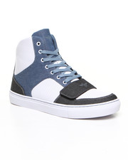 Men - Cesario X - Blue Chambray High Top Sneaker