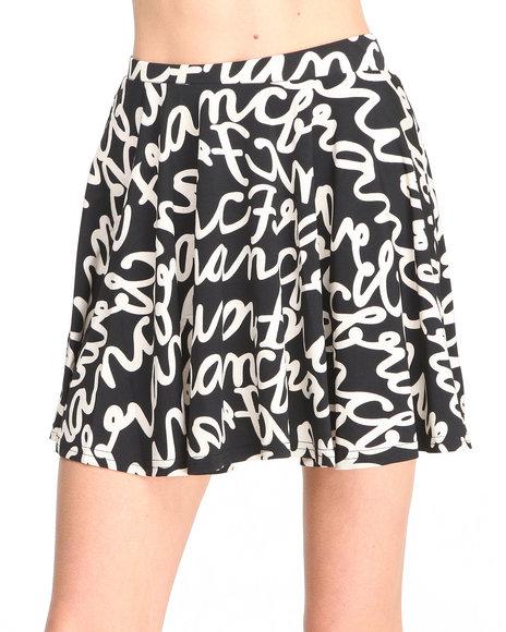 Glamorous - Women  Skater Skirt
