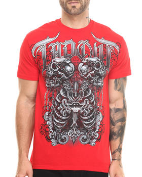 TAPOUT - CHAINED SKELETON S/S TEE