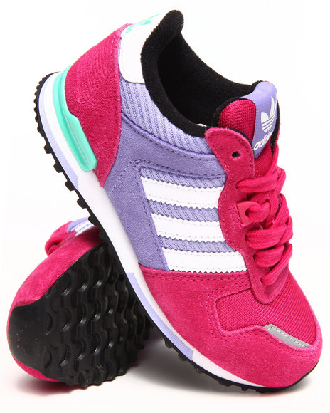 Adidas - Girls Pink Zx 700 K Sneakers (11-7)