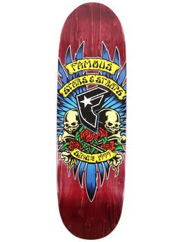 "Famous Stars & Straps - Humpston Skate Deck 9"""