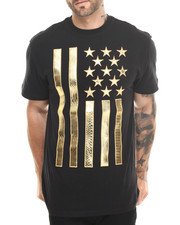 Men - Metallic Flag S/S Tee
