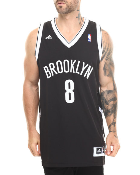 Adidas Black Deron Williams Brooklyn Nets Swingman Jersey