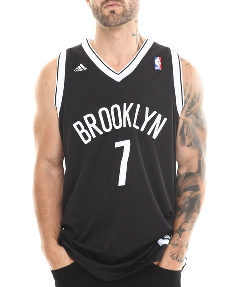 Adidas Black Joe Johnson Brooklyn Nets Swingman Jersey