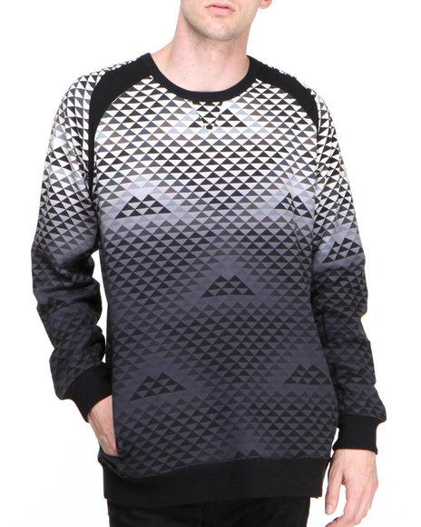 BLVCK SCVLE Destro Dip Dyed Crewneck Sweatshirt