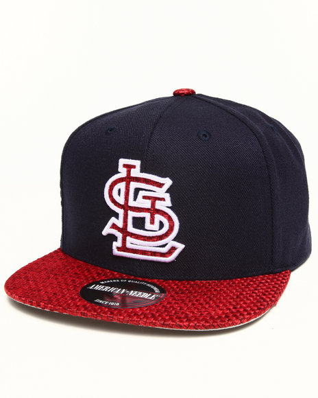 American Needle Men St. Louis Cardinals Hatch Strapback Hat Navy