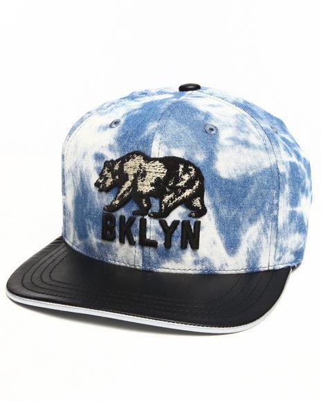 American Needle Men Brooklyn Fury Acid Wash Strapback Hat Multi - $12.99