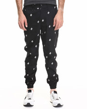 Pants - DAMIAN Quill Embroidered Jogger