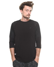 Publish - ARCADIA 3/4 Mesh Oversized Raglan