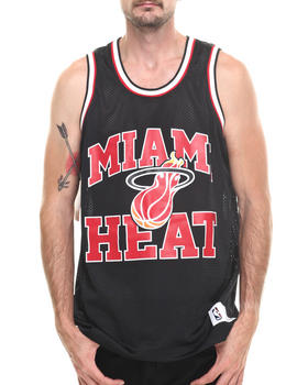 Mitchell & Ness - Miami Heat NBA Drop Step Mesh Tank Top