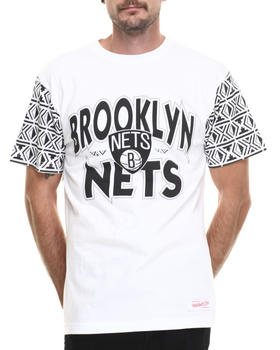 Mitchell & Ness - Brooklyn Nets NBA Shot Blocker Tee
