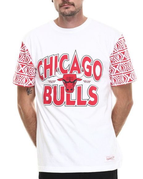 Mitchell & Ness White T-Shirts