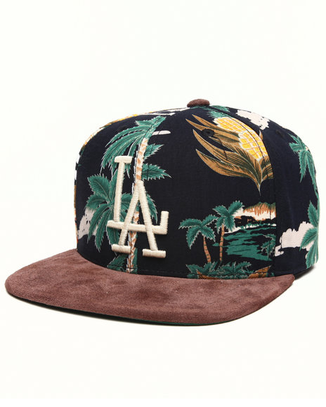 American Needle Los Angeles Dodgers Haven Floral Strapback Hat Multi