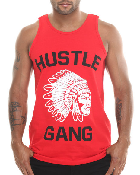 Hustle Gang Red Tanks