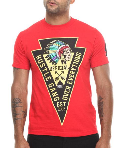 Hustle Gang Red Union Tee