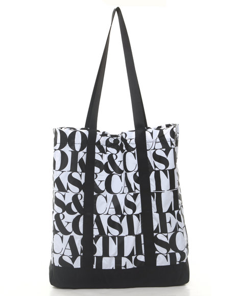 Crooks & Castles Headliner Packable Tote White
