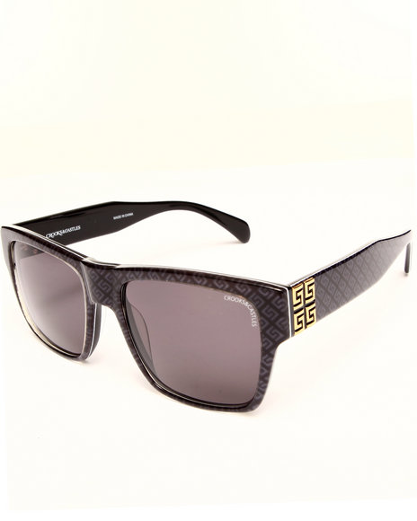 Crooks & Castles Thuxury Violento Ii Sunglasses Black