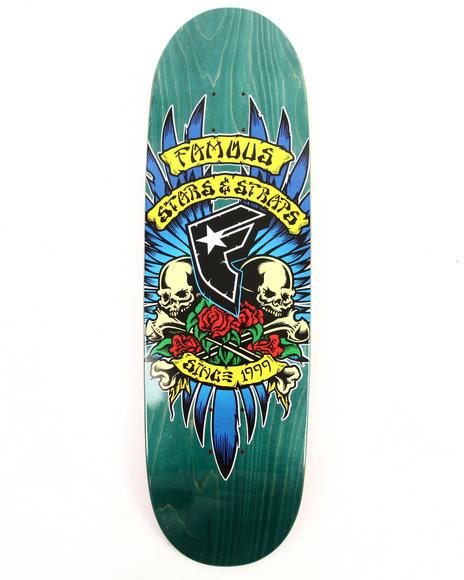Famous Stars & Straps Men Humpston Skate Deck 9
