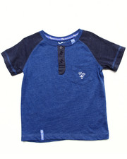 Sizes 2T-4T - Toddler - HENLEY TEE (2T-4T)