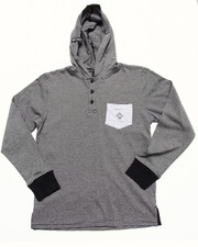 LRG - HOODED HENLEY (8-20)