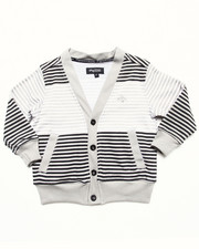 Sizes 2T-4T - Toddler - STRIPED CARDIGAN (2T-4T)