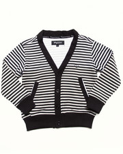 LRG - STRIPED CARDIGAN (4-7)