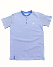LRG - STRIPED HENLEY TEE (4-7)