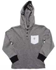 LRG - HOODED HENLEY (4-7)